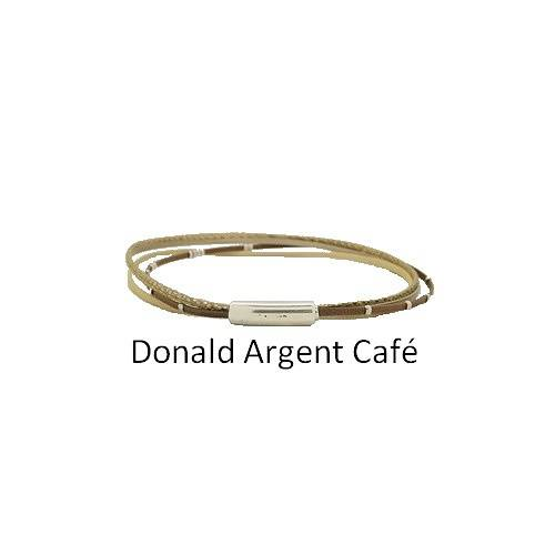Donald Silver: Choker leather neck collierdonaldargentcafe